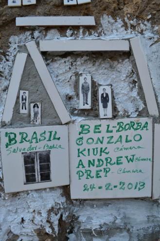 Obra colectiva de Borba y otros artistas