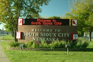 City Welcome Sign