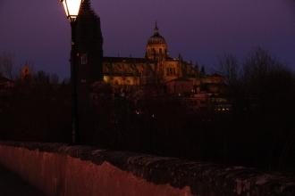 catedral, puente romano, salamanca